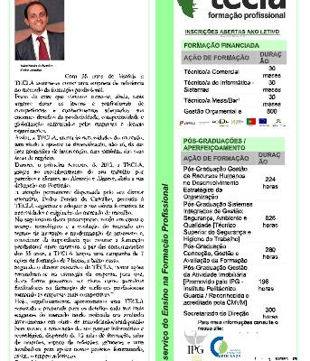 Jornal Redescobrir em 2013
